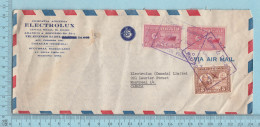 Venezuela - Commercial Envelope ELECTROLUX, Via Air Mail, Correo  Aereo, 1949, Letter Send To Canada - Venezuela
