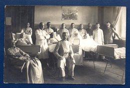 Biélorussie. Proujany (Brest). Carte-photo. Soldats Allemands Blessés Au Kriegslazarett . Août 1916 - Belarus