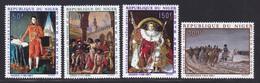 NIGER AERIENS N°  100 à 103 ** MNH Neufs Sans Charnière, TB (D6846) Napoléon 1er, Bonaparte, Tableaux - Niger (1960-...)