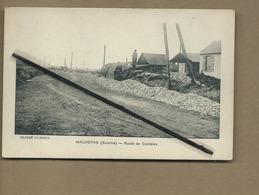 CPA  Très Souple  - Maurepas  -  (Somme ) - Route De Combles - France