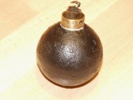 Grenade Francaise Mle 1847 (neutralisée/resto) WW1 - 1914-18