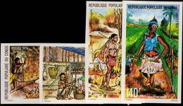 Congo Brazzaville 1978 Food Providing Imperf Unmounted Mint. - Congo - Brazzaville