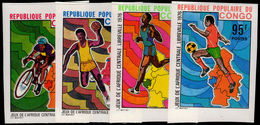 Congo Brazzaville 1976 Central African Games Imperf Unmounted Mint. - Congo - Brazzaville