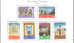 Venezuela PA 1969 400 Ann.Maracaibo   Scott.C1013/1018 See Scans On Scott.Page - Venezuela