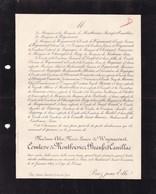 PARIS PAU Alix De WIGNACOURT Comtesse De MONTBOISSIER BEAUFORT CANILLAC 85 Ans 1905 Famille De MARTEL De La VERNETTE - Avvisi Di Necrologio