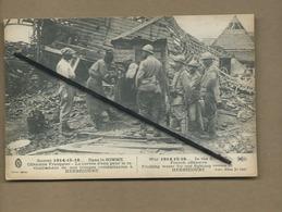 CPA Herbécourt - Guerre 1914-15-16 - Dans La Somme -Offensive Française - ( Militaire , Soldat ) - France