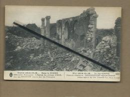 CPA - Herbécourt - Guerre 1914-15-16 - Dans La Somme -Offensive Française - L'église Du Village - France