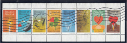 BELGIUM   SCOTT NO  1723A     USED   YEAR  1999  FULL POSTALLY USED BOOKLET PANE - Bélgica