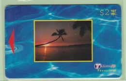 Fiji - 2000 Dawn & Dusk - $2 Small Sunset - FIJ-159a - VFU - Fiji