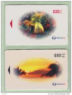 Fiji - 2000 Provisional Issue - $20 & $50 Set (2) - FIJ-169/170 - Mint - Fiji