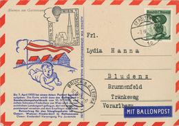 Sankt Pölten Ballonpost Tirol Pustertal - 1945-60 Briefe U. Dokumente