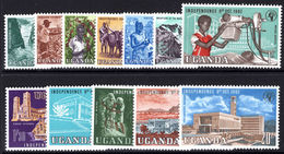 Uganda 1962 Independence Unmounted Mint. - Uganda (1962-...)