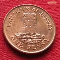 Jersey 1 Penny 1998 KM# 103 - Jersey
