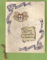 Lisboa - Escola Do Exército - Aluno Do Colégio Militar - Programa Das Festas Do Juramento De Bandeira - Programmi