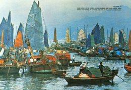 Hongkong Floating People In Castle Peak Bay - China (Hong Kong)