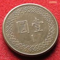 Taiwan 1 Yuan 1983 / 72 Y# 551 Lt 439 China Formosa - Taiwan