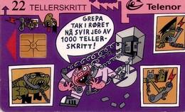 TARJETA TELEFONICA DE NORUEGA. N-66 (015) - Noruega