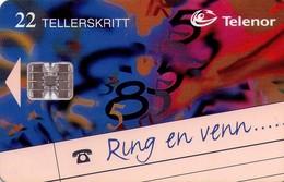 TARJETA TELEFONICA DE NORUEGA. N-105 (020) - Noruega