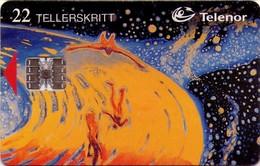 TARJETA TELEFONICA DE NORUEGA. N-79 (025) - Noruega