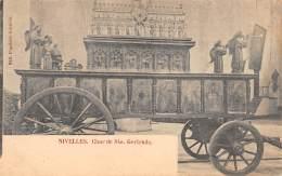 NIVELLES - Char De Ste. Gertrude - Nivelles