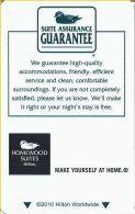 Homewood Suites By Hilton @2010 - Hotel Keycards
