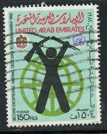 U.A.E. 1982 150f  Disarament Meeting Issue  #174 - Verenigde Arabische Emiraten