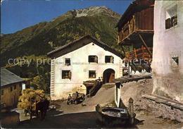 11719072 Celerina GR Engadiner Dorfpartie Stazersee - Suisse