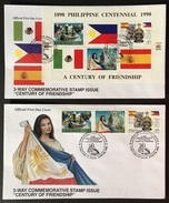 FDC Philippines 1999 - Century Of Independence, Flags, Ships - Buste