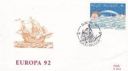 Belgium 1992 FDC Europa CEPT  (G57-82) - Europa-CEPT
