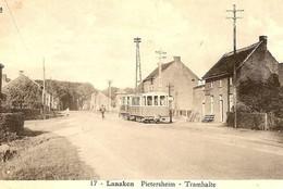 REPRODUCTION Lanaken  Limbourg Statie Tram - Lanaken
