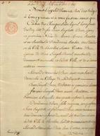 04/02/1835) Grosse Relative à Des Biens Immobiliers Sis à GOSSELIES (succession PIRON – Acheteur BRULANT, F.) - Manuscripts