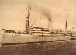 Photo « Paquebot ELISABETHVILLE De La Cie Maritime Belge – Format +/- 36 X 27 Cm) - Boten