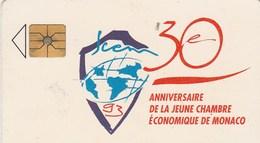 TELECARTE 50..  30e ANNUVERSAIRE DE LA JEUNE CHAMBRE ECONOMIQUE DE MONACO - Monaco