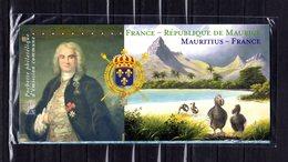 """"""" FRANCE - REPUBLIQUE DE MAURICE """" Sur Bloc Souvenir - Emission Commune - Neuf Sous Blister PPEC - Emissions Communes"""