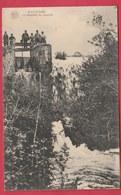 Nalinnes - La Cascade Du Moulin ... Groupe De Personnes - 1922 ( Voir Verso ) - Ham-sur-Heure-Nalinnes