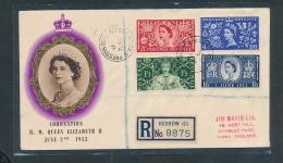 UK.- FDC Von 1953    (oo1514  ) Siehe Scan - 1952-.... (Elizabeth II)