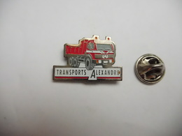 Beau Pin's  , Transport , Camion Mercédés , Transports Alexandre - Transportation