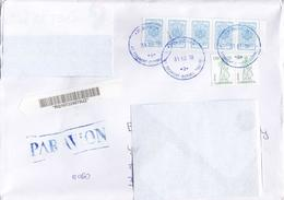 Uzbekistan 2018 Registered Mail Cover Address Russia - Uzbekistan
