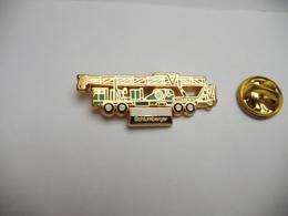 Beau Pin's , Transport Camion , Grue Levage , Schlumberger , En Zamac - Transportation