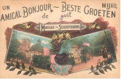 Scherpenheuvel-Zichem - CPA - Montaigu - Un Amical Bonjour - Scherpenheuvel-Zichem