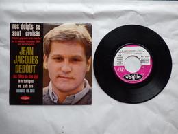 EP 45 T JEAN JACQUES DEBOUT  PARIS  LABEL VOGUE  EPL 8254  MES DOIGTS SE SONT CROISES - Disco & Pop