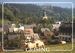 72372109 Geising Erzgebirge Teilansicht Kirche Geising - Geising