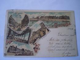 Ostende - Oostende  // Litho No 1 (Souvenir De)  // Used 1898 - Oostende