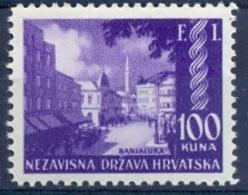 HR 1942-81 STAMPS EXIBITION BANJA LUKA, CROATIA HRVATSKA, 1 X 1v, MNH - Kroatien