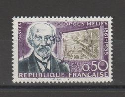 FRANCE / 1961 / Y&T N° 1284 : Georges Méliès - Choisi - Cachet Rond (1962) - Gebraucht
