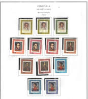 Venezuela PA 1966 Bolivar Ritratto  Scott.C937/948 See Scans On Scott.Page - Venezuela