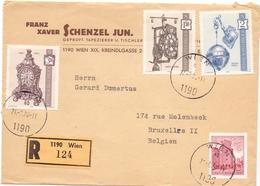 Omslag Enveloppe - Pub Reclame - Franz Schenzel Jun. - Recommandé - Wien - Wenen - Oostenrijk 1970 - Entiers Postaux