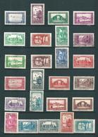 Colonie Timbres D'algérie  De 1930  N°101 A 126 (sauf 113 Et 121) 5 Timbres Oblitérés - Argelia (1924-1962)