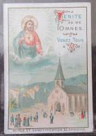 Image Pieuse / Holy Card - Repos Et Sanctification Du Dimanche - Imprimeur Petithenry Paris - Non-daté - Images Religieuses