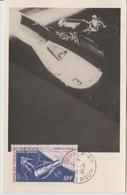 Cameroun 1966 Carte Maximum PA 71 Gemini IV - Kameroen (1960-...)